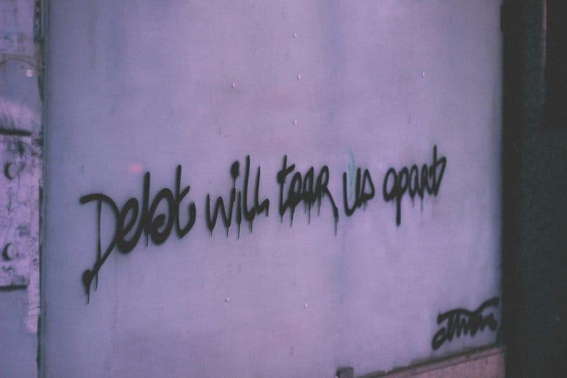 Debt will tear us apart
